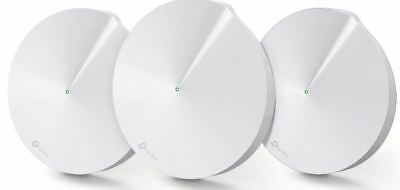 TP-Link Deco M5 Whole Home Mesh Wi-Fi System Security Dual-Band AC1300 (3-Pack)