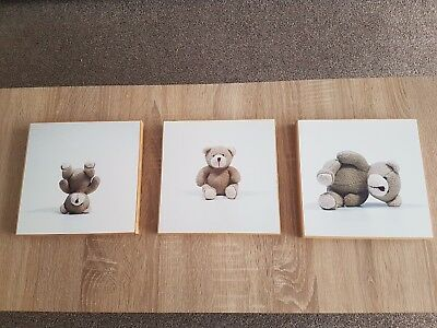 Teddy Bear Nursery Pictures.Box Frames