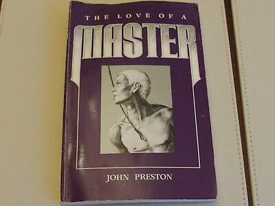"""John Preston """"The Love of A Master"""" 1987 paperback USA first edition 1987"""