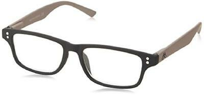 Montana Strength Plus 3.50 Black Textured Reading Glasses pJM3e7