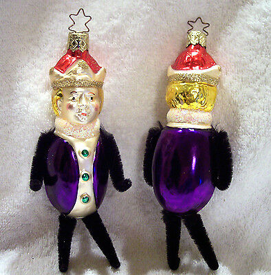 King Ludwig,Old World Christmas,Inge-Glas,Germany,Retired,Blown Glass,Ornament