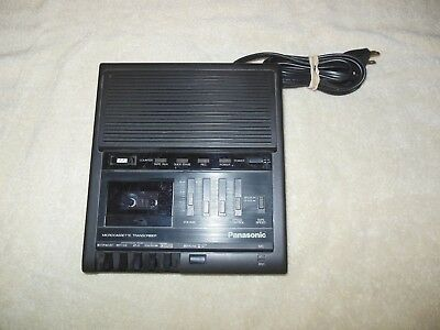 Panasonic RR-930 Microcassette Transcriber Dictation Recorder