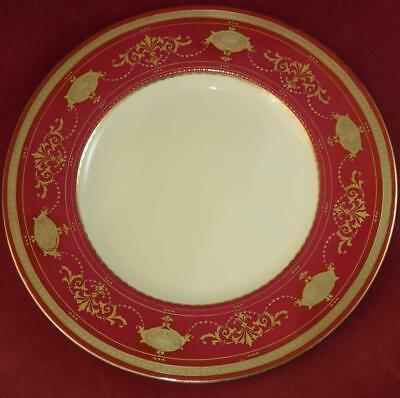Minton Gilded Cabinet / Dinner Plate Antique 1924