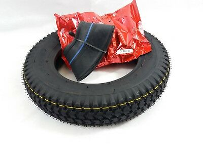 1x 3.00-8 Black Mobility Scooter Tyre & Tube 3.00-8 for Wheelchairs & Cordoba