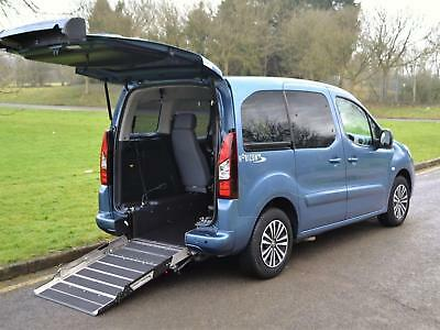 2014 14 Peugeot Partner Tepee 1.6 VTi 120 PS Wheelchair Accessible Vehicle