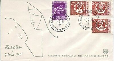 Sweden - Special Events, People & Anniversaries (5no. PO FDC's) 1960-69