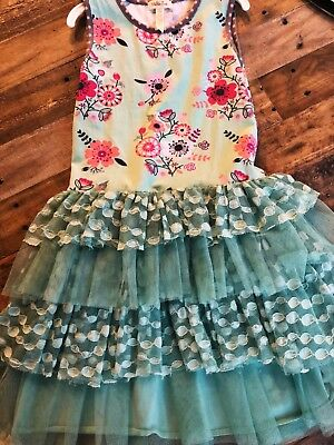 matilda jane size 8 barely worn spring dresses, great condition, great twirl