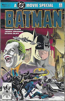 BATMAN  Movie Special #1  1989