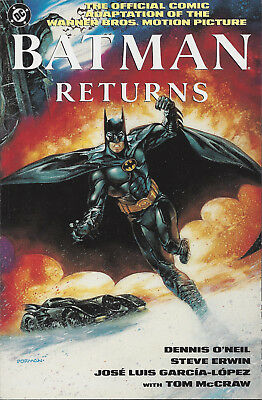 BATMAN RETURNS Movie Special #1  1992 Deluxe Square bound edition