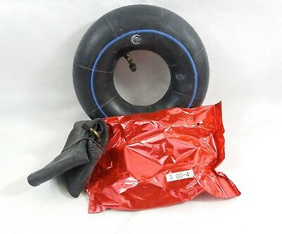 2x  MOBILITY SCOOTER INNER TUBES - SIZE 3.00-4 (260x85) bend valve #NEW#