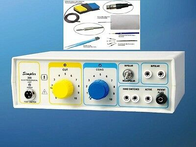 High Freq. Electrosurgical Generator Cautery Diathermy Machine Surgery rth