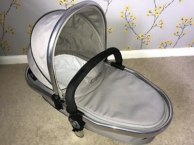 iCANDY PEACH 2 LOWER CARRYCOT IN SILVER MINT COLOUR