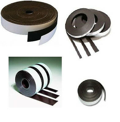 Magnet Band - Raw, Self-adhesive - Type A - 1,5mm x 25,4mm x 30,5M