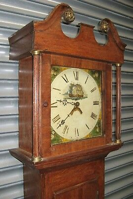 Cottage Grandfather Clock by Thomas Williams of Brackley