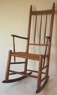 Authentic 19th-century Shaker rocking chair