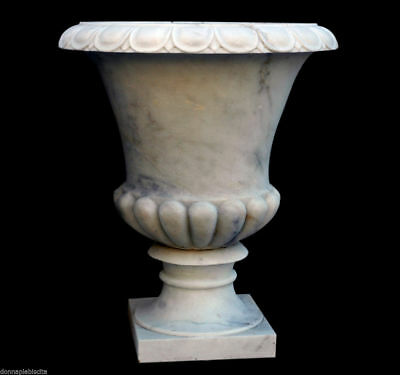 Large Jar White Marble Carrara Furniture Classic marble White marble Old Vase