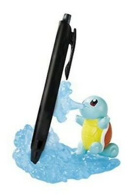 Pokemon Useful figures at the desk Squirtle(Pen stand) Japan Re-Ment