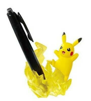 Pokemon Useful figures at the desk Pikachu(Pen stand) Japan Re-Ment