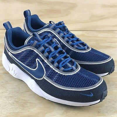 Nike Air Zoom Spiridon 16 Navy Blue White Mens Running Shoes (926955-400) Size