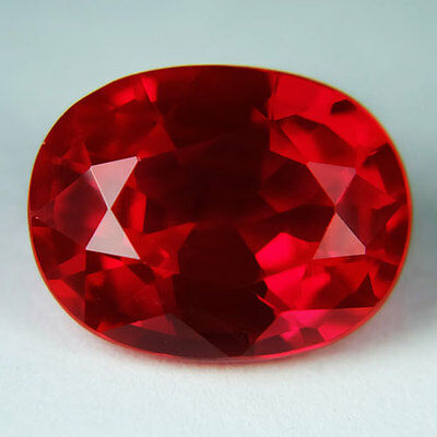12.85ct.AWESOME BLOOD RED RUBY OVAL LOOSE GEMSTONE