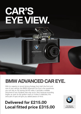 bmw genuine advanced car eye hd front and rear dash cam. Black Bedroom Furniture Sets. Home Design Ideas