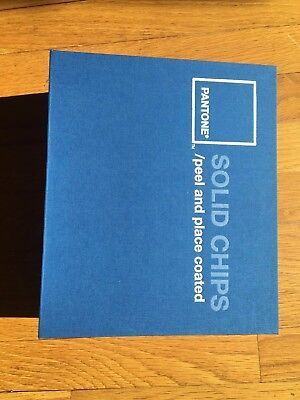 Pantone Color Chip Book Solid Coated Peel and Place