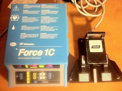 VALLEYLAB FORCE 1C Solid State Electrsurgery With Foot switch