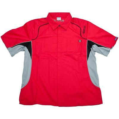 Sparco SP02170 Pit Tech Shirt, Red, XS