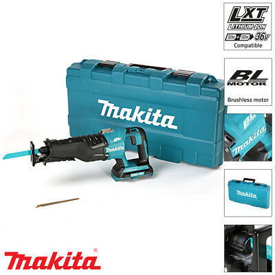 Makita DJR360ZK 18V Brushless Twin Reciprocating Saw Body With Carry Case