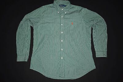 Ralph Lauren Polo Hemd Custom Fit Business Geschäfts Hemden Nadelstreifen Gr. XL
