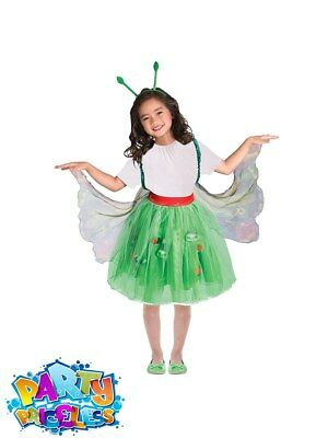The Very Hungry Caterpillar Costume Book Week Day Boys Girls Fancy Dress Outfit