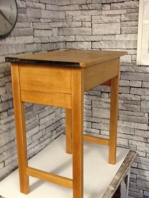 Vintage School Desk With Lift Up Lid