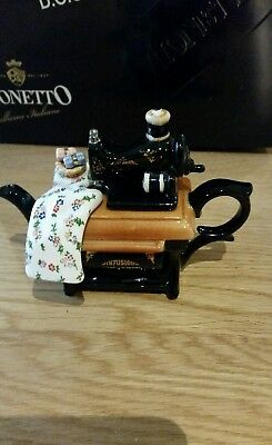 PAUL CARDEW MINIATURE INFUSION Sewing Machine Teapot