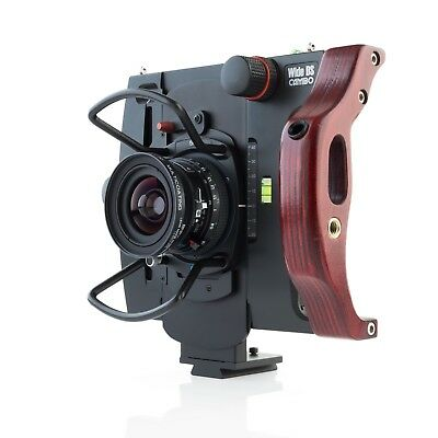 CAMBO WIDE DS 4X5 Inch. LARGE FORMAT + Schneider SUPER-ANGULON XL 5.6/58 mm.