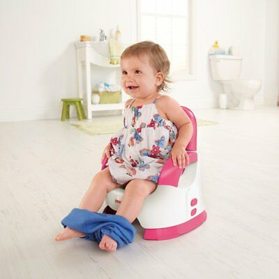 Girls Potty Training Toilet Seat Baby Toddler Kids Pee Trainer Seat Chair Pink