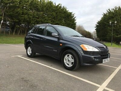 Ssangyong Kyron M200XDi 4x4 2008 57 low miles excellent condition