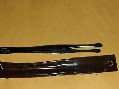 Showgard Stamp Tongs 905 Round Tip   ***we Help Our Veterans***