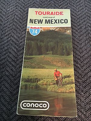 1974 Vintage New Mexico Road Map