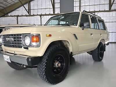 1986 Toyota Land Cruiser  1986 Toyota FJ60 Land Cruiser 5 speed transmission well maintained
