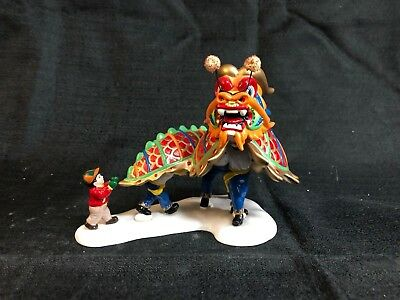 Dept 56 Snow Village The Dragon Parade # 55032 Retired - great condition