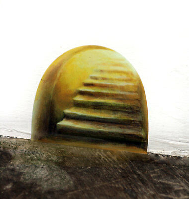 Fairy Staircase Wall Sticker - fairy door, mouse hole, magical, storytelling
