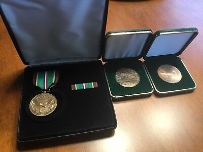 WW2, Vietnam and Gulf Wars commemorative medals