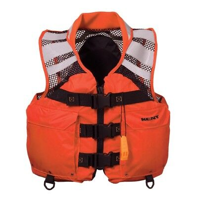 """NEW Kent Sporting Goods Kent Mesh Search And Rescue """"sar"""" Commercial Vest - Xlar"""