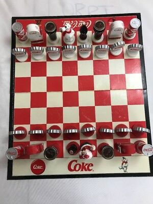 Chess Antique/Vintage Board Game Coca-Cola Christmas Collector's Edition