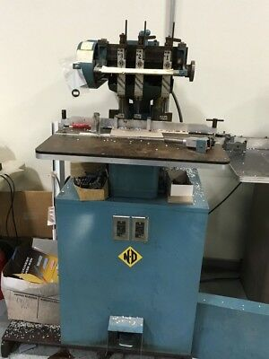 Nygren Dahly3 Hole Hydraulic Paper Drill - Great Shape! - No Reserve! Must See