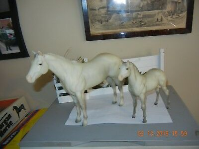 1993 SR Watchful Mare Toys R Us release Mare & Foal on Lady Phase & stock foal