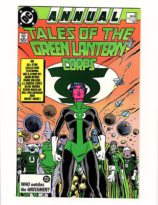 Tales of the Green Lantern Corps Annual #3 (1987 DC) VF/NM Alan Moore John Byrne
