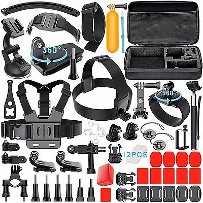 Kit Accessori GoPro HERO 5 4 3+ 3 2 Session SJCAM ACTION CAM Xiaomi Consegna 2gg