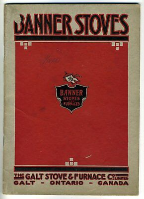 BANNER GALT STOVE AND FURNACE COMPANY STOVES CATALOGUE No. 9 Canada 1915-20s?