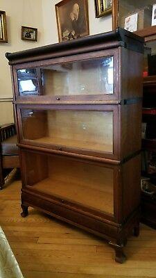 Antique Macey Barrister Lawyers Bookcase